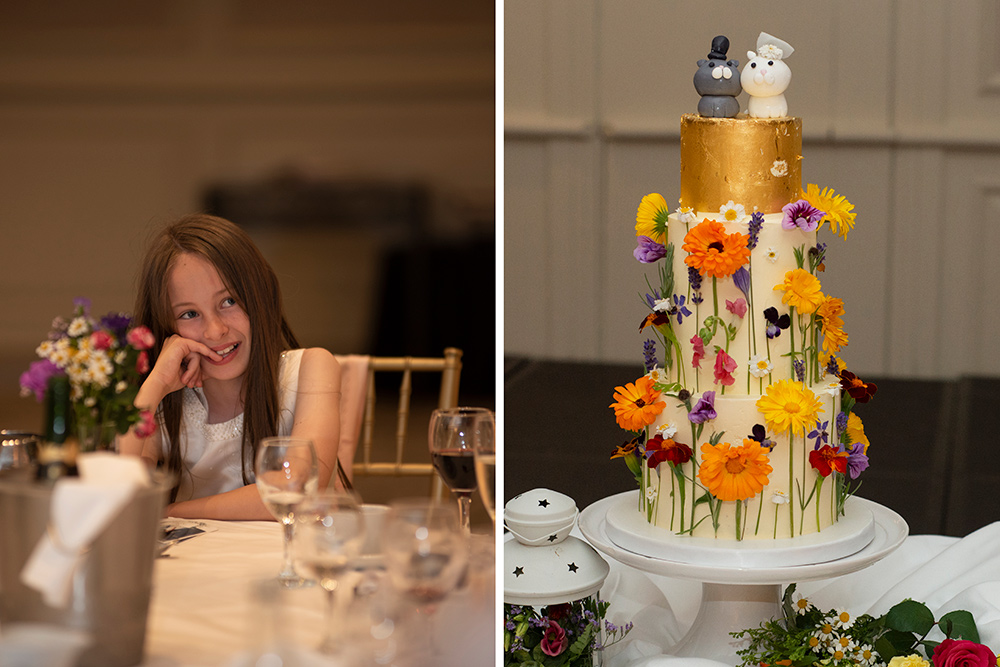 wedding cakes with cats at druids glen