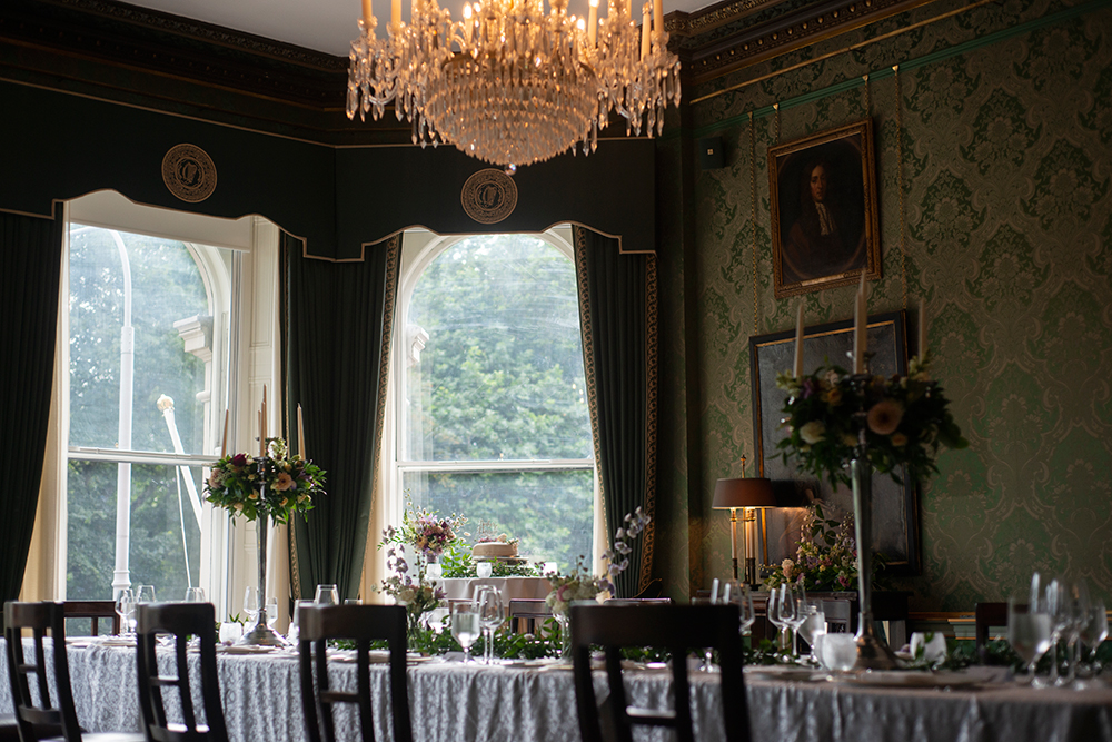 wedding tables at the Shelbourne Hotel