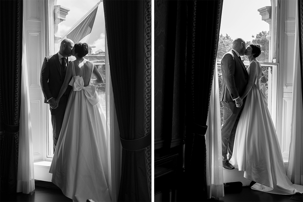classic wedding at the Shelbourne Hotel